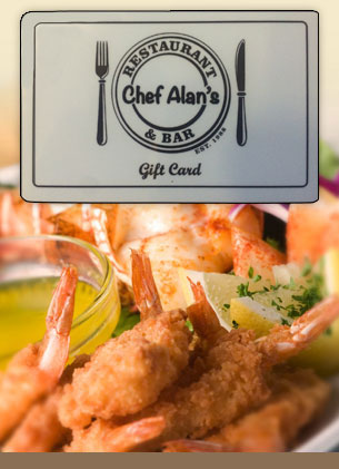 Chef Alans Gift Cards